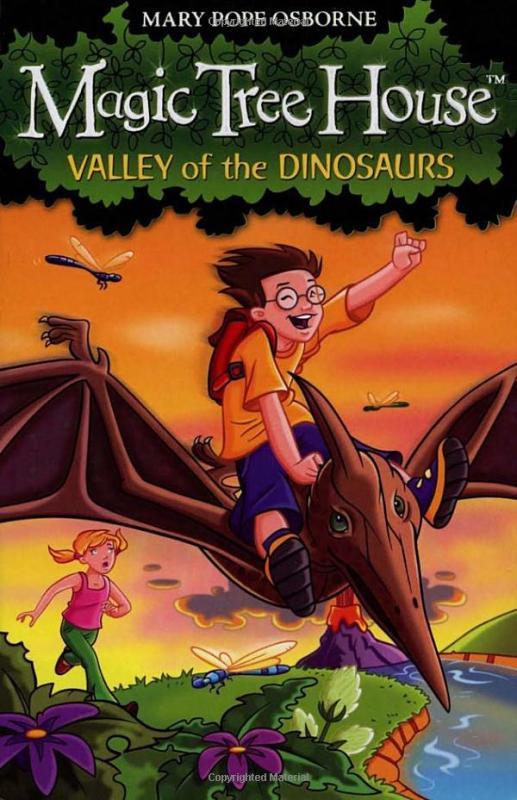 Fahasa - The Magic Tree House 1: Valley Of The Dinosaurs