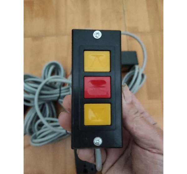 Bảng giá Công tắc cửa cuốn 3 nút có dây 3m cho motor YH