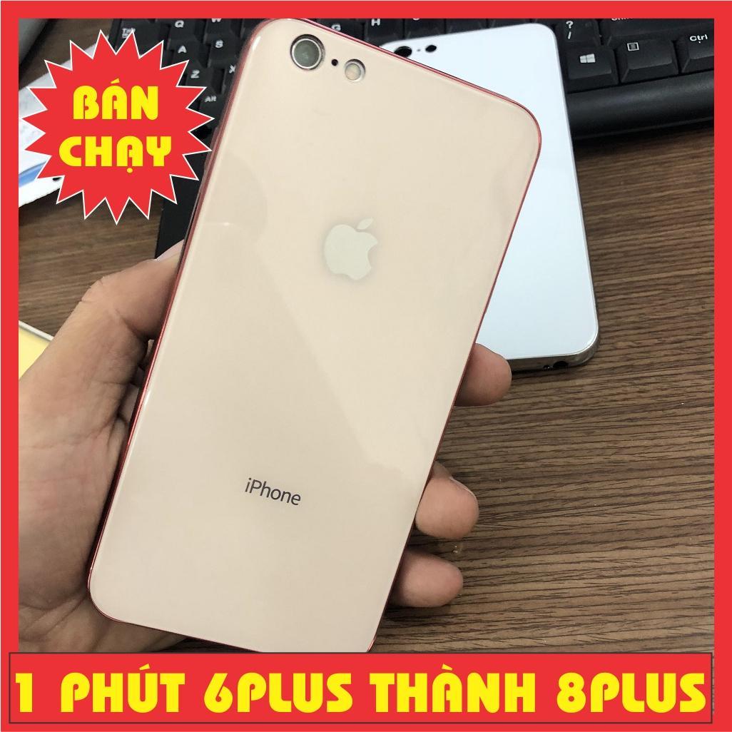 Ốp lưng gương giả iphone 8plus cho iphone 6PLUS 6SPLUS / LƯNG KÍNH GIỐNG IPHONE 7 PLUS 8 PLUS MR CAU