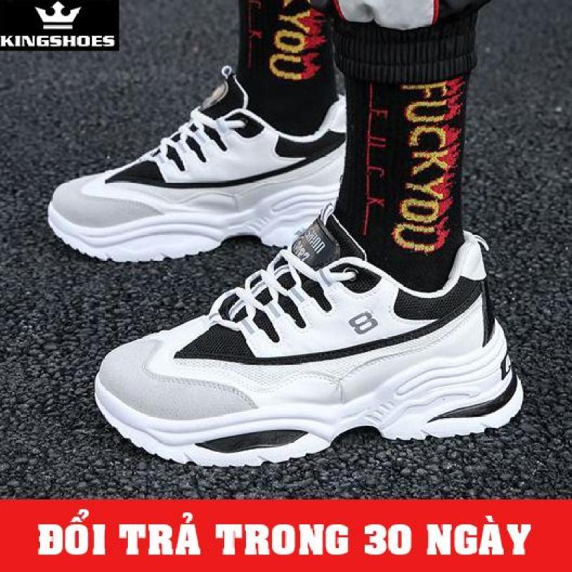 Giày Sneaker Nam Cao Cấp Phong Cách Hàn Quốc  (Giá Siêu Sốc) - KINGSHOES (KS10) thiết kế thời trang phong cách trẻ trung, hiện đại, cá tính giá rẻ