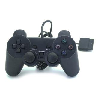 Tay cầm chơi game PlayStation 2 DualShock2 , Tay cầm chơi game cho máy PlayStation 1, PlayStation 2 - Tay cầm chơi game có dây cho máy PS1, PS2 thumbnail