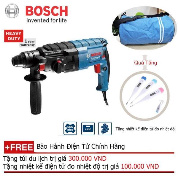 Máy khoan búa Bosch GBH 2-24 DRE + Quà tặng nhiệt kế điện tử