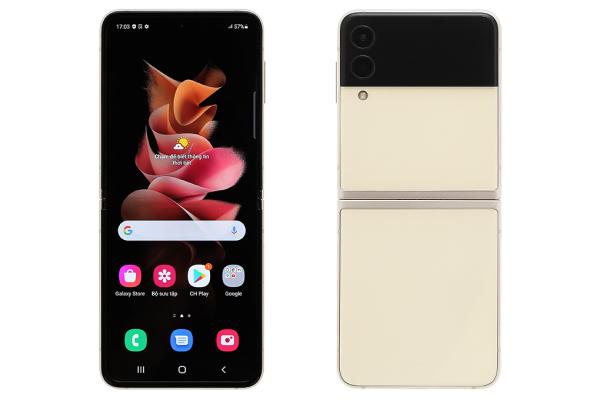 Điện thoại Samsung Galaxy Z Flip3 5G nguyên seal, chính hãng, MỚI 100%, Màn hình: Dynamic AMOLED 2X, Chính 6.7 & Phụ 1.9Full HD+, Camera sau: 2 camera 12 MP, Camera trước: 10 MP, Chip: Snapdragon 888, RAM: 8 GB, Pin, Sạc: 3300 mAh, 15 W