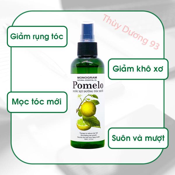 Nước xịt dưỡng tóc tinh dầu bưởi Pomelo 100ml giúp giảm rụng tóc*, giúp tóc dài và dày hơn giá rẻ