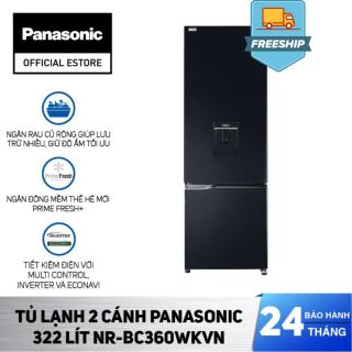 Tủ Lạnh 2 Cánh Panasonic 322 Lít NR-BC360WKVN - Bảo Hành 2 Năm - Hàng Chính Hãng