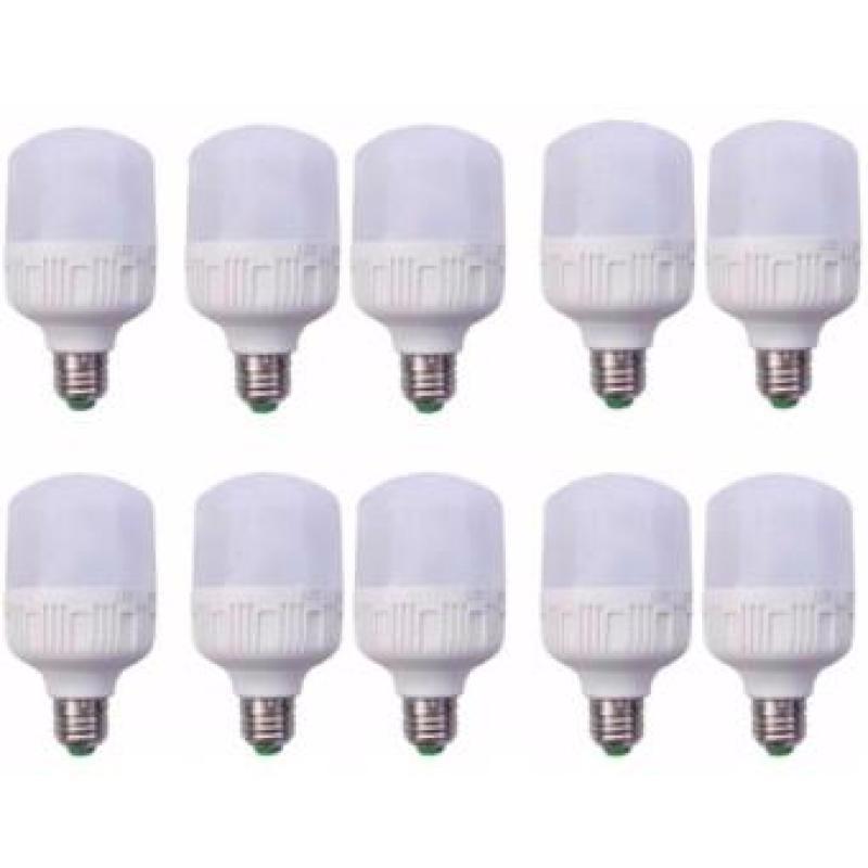 Bộ 10 bóng đèn Led Trụ 30W Công Suất Cao - Phòng khách (Trắng)