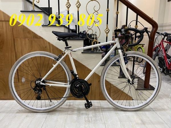 Mua Xe đạp cuộc Nhật nội địa khung nhôm GRANDIR 700c Shimano 21 tốc độ mẫu xe đạp đua bộ đề SHIMANO