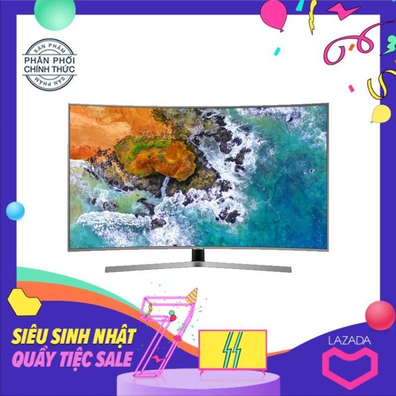 Bảng giá Smart Tivi Samsung 49 inch màn hình cong Ultra HD 4K - Model 49NU7500 (Đen) Tích hợp DVB-T2, Wifi