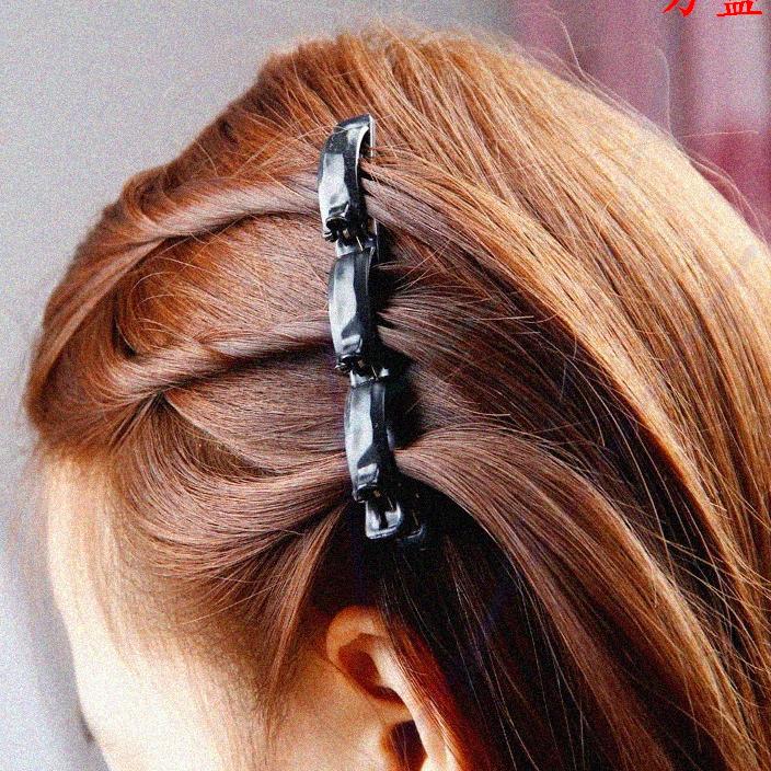 Lamdepdeal - Kẹp tóc 3 tầng kiểu Hàn Quốc - Tạo kiểu tóc cực xinh siêu dễ - Dụng cụ làm tóc cho bạn gái. giá rẻ