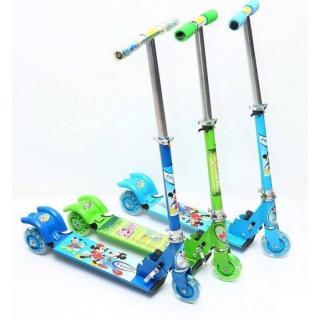 Xe scooter sắt có đèn cho bé đồ chơi trẻ em xe đồ chơi xe scooter xe trượt trẻ em - đồ chơi ngoài trời - đồ chơi - đồ chơi vận động - quà tặng cho bé yêu 5