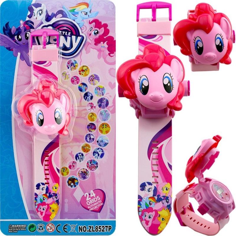 [HCM]Đồng hồ chiếu 24 hình ngựa pony 3D cho bé bán chạy