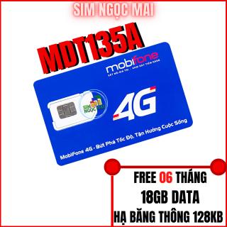 Sim 4G Mobi MDT135A Trọn Gói 06T ( 3gb tháng) - Sim MDT135A - FREESHIP thumbnail