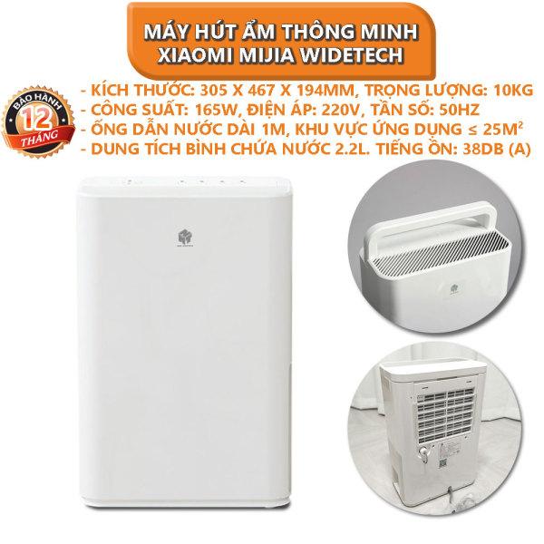 [Voucher 5% cho đơn từ 200k][Trả góp 0%]Máy hút ẩm thông minh Xiaomi Mijia WIDETECH 12L - Bảo hành 12 tháng