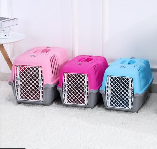[HCM]Lồng vận chuyển chó mèo lồng vận chuyển hàng không cho chó mèo giá rẻ
