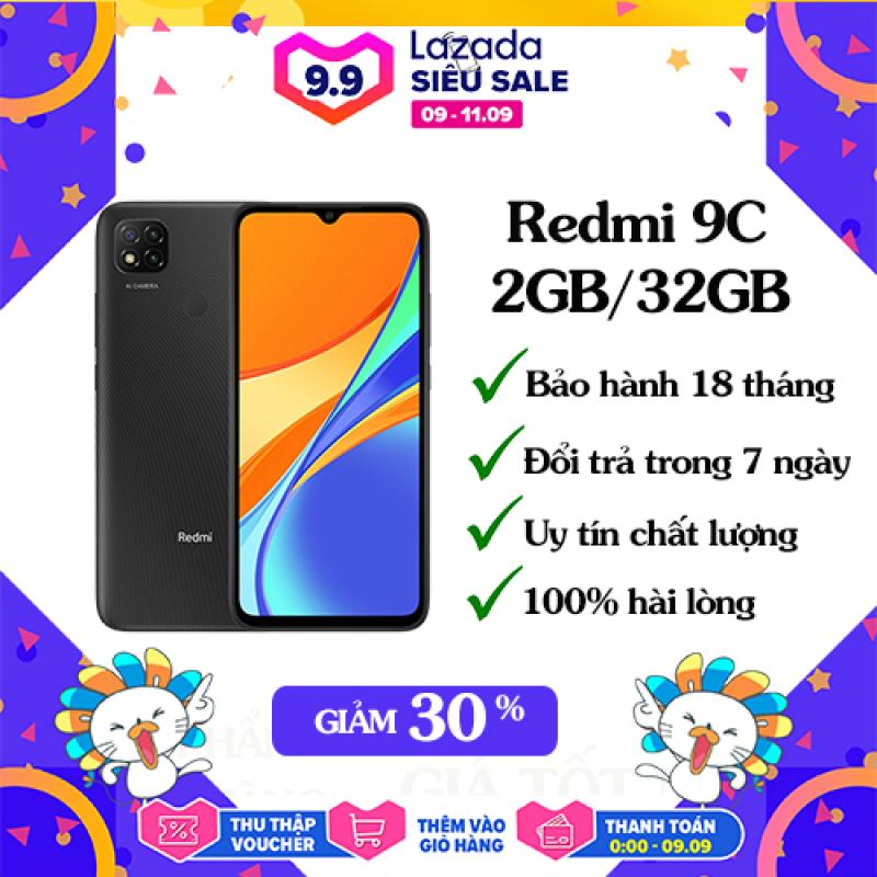 [Voucher giảm thêm 50k] Điện thoại Xiaomi Redmi 9C 2GB/32GB| Hàng chính hãng, có sẵn tiếng việt, bảo hành 18 tháng [Điện thoại giá rẻ]