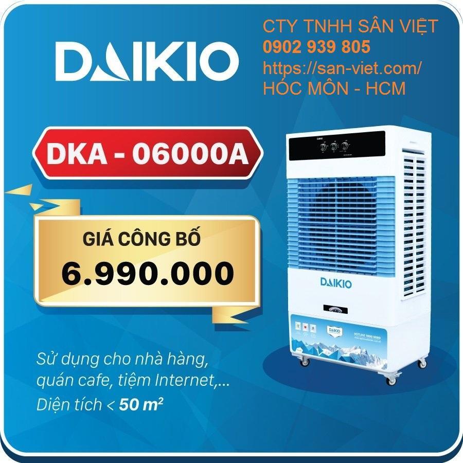 Bảng giá [Máy làm mát] không khí DAIKIO DKA-06000A