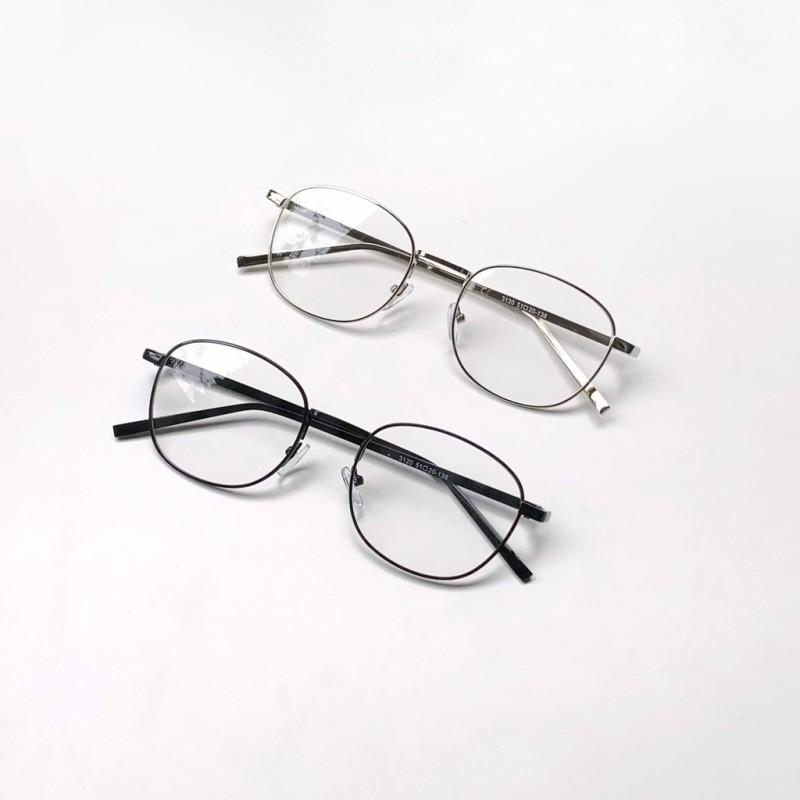 Giá bán Gọng kính kim loại vintage dáng vuông nhỏ- 3120