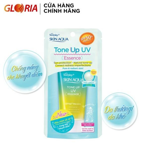 Tinh chất chống nắng dưỡng ẩm nâng tông che khuyết điểm Sunplay Skin Aqua Tone Up Uv Essence, sản phẩm đa dạng, chất lượng tốt, đảm bảo an toàn sức khỏe người dùng
