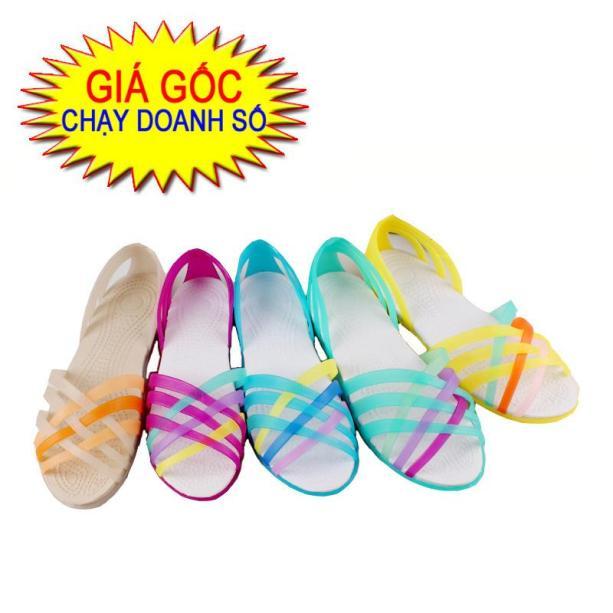 Sandal nhựa cao cấp sandal đi mưa phong cách Hàn Quốc giá rẻ