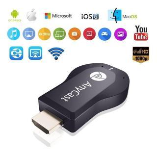 Thiết bị truyền hình ảnh từ điện thoại lên Tivi máy chiếu qua cổng HDMI Không dây M2 Plus Anycast - Dùng cho hầu hết tất cả các điện thoại thông minh smartphone - iPhone, iPad, Wiko, Vivo, Oppo... thumbnail