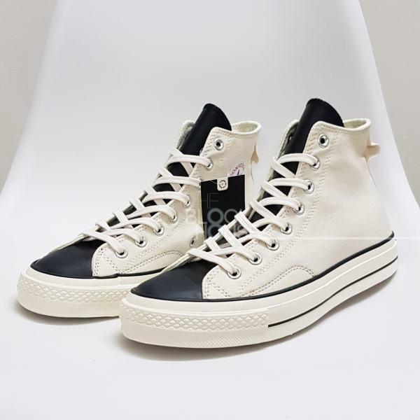 Giày Sneaker Converse 1970s Fear of God HIGH WHITE(Giày thể thao CV 1970s cao cổ màu trắng kem+ Tùi converse+bill+tất))