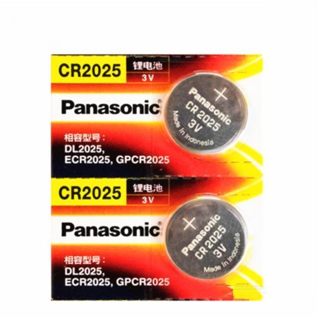 Combo Vỉ 5 Viên Pin Panasonic CR2025 Giá Cực Cool