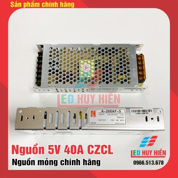 Nguồn led 5V 40A CL, Binazk mỏng trong nhà, Nguồn CL 5v40a chuyên dùng cho module led