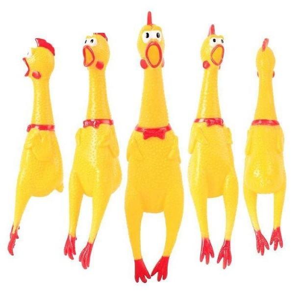 Đồ chơi cao su con gà, cam kết hàng đúng mô tả, chất lượng đảm bảo, an toàn cho thú cưng nhà bạn