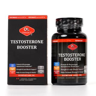 Viên uống hỗ trợ cân bằng và tăng cường sinh lý nam Olympian Labs Testosterone Booster - Hộp 60 viên thumbnail