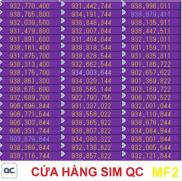Sim 090 4G 120GB 200 phút liên mạng 1000 phút mobifone-09mf