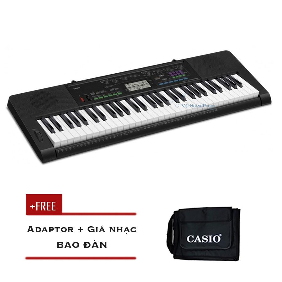 Đàn Organ Casio CTK-3400 kèm AD - Bao đàn ( CTK3400) - HappyLive Shop