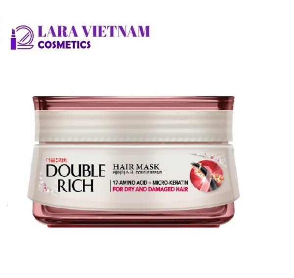 Kem ủ tóc Double Rich dưỡng tóc khỏe mượt dành cho tóc khô, xơ 150g giá rẻ