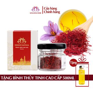 Saffron nhụy hoa nghệ tây Kingdom Iran chính hãng loại super negin thượng hạng hộp 1 gram thumbnail