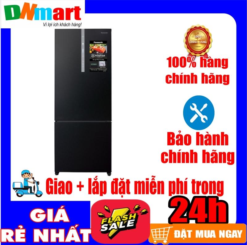 Tủ lạnh Panasonic NR-BX460XKVN ngăn đá dưới inverter 405L mới 2020