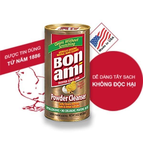 [nhẬp KhẨu Usa] Bon Ami Powder Cleanser – BỘt TẨy Đa NĂng KhÔng HÓa ChẤt ĐỘc HẠi By PhỤ KiỆn ThiẾt BỊ SỐ.