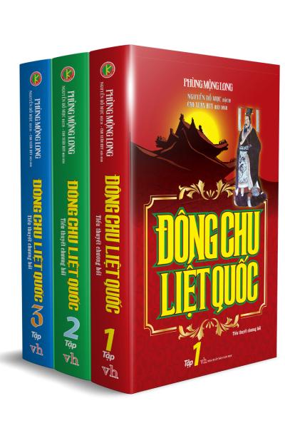 Đông Chu Liệt Quốc Trọn Bộ 3 Tập
