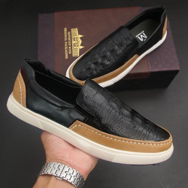 giày lười nam G574 giày lười da nam giá rẻ
