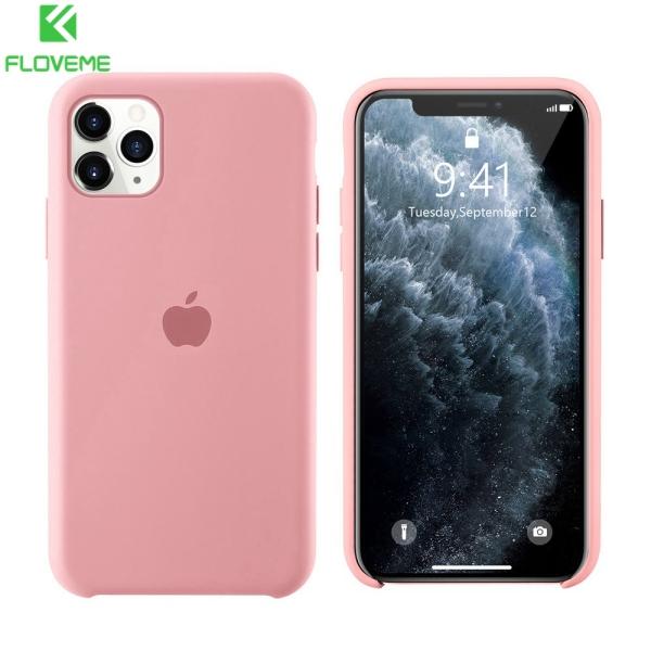 Vỏ điện thoại silicon lỏng chính hãng Caseier cho iPhone 12 12mini 12Pro Max 11 11Pro 11Promax 6S 7 8 Plus XS XR XS Max Có logo Vỏ iPhone chính thức