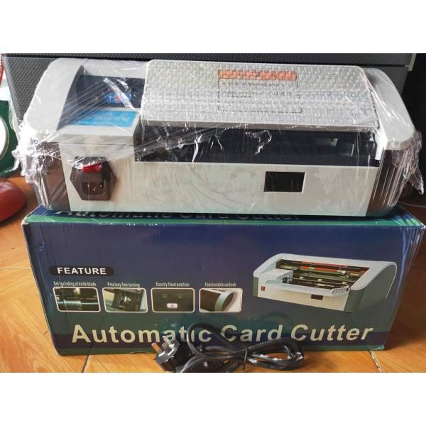 Bảng giá Máy cắt name card danh thiếp card visit tự động khổ A4 Phong Vũ