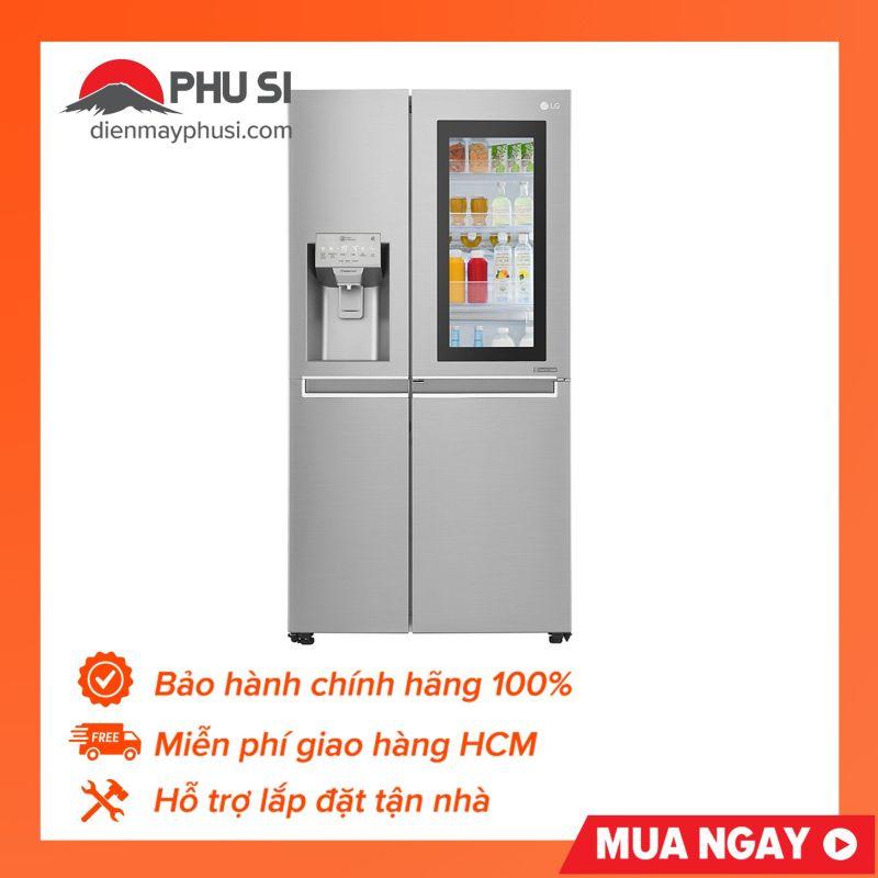 Tủ lạnh Instaview Door-in-Door LG GR-X247JS, 601L, Inverter