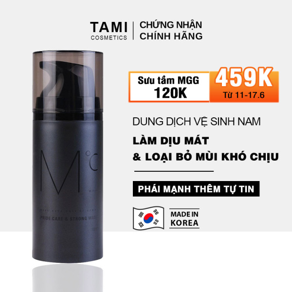 Dung dịch vệ sinh nam MdoC Pride Care & Strong Wash 100ml TM-MD02
