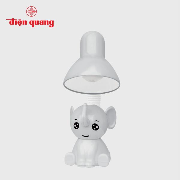 Đèn bàn bảo vệ thị lực Điện Quang ĐQ DKL18 BW (Kiểu con voi, bóng led warmwhite)
