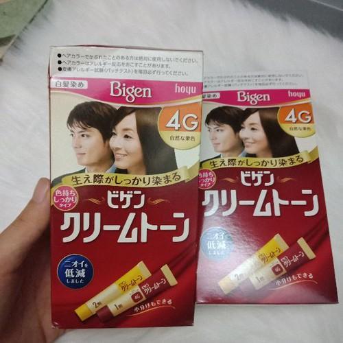 Bigen 4G nhuộm tóc Nhật nội địa nhập khẩu