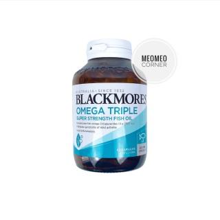 Viên uống Blackmores Omega Triple Super Streng Fish Oil Úc Dầu cá thumbnail