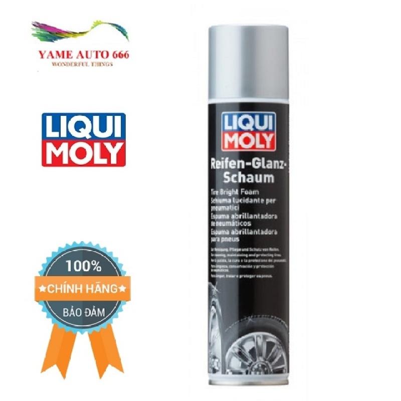 Chai Vệ sinh bảo dưỡng lốp xe Liqui Moly 1609 (400ml) nhanh chóng làm sạch hiệu quả, giúp bảo vệ lốp xe trong quá trình hoạt động được an toàn, sạch sẽ.