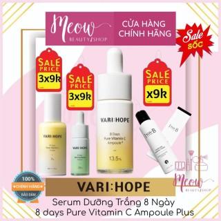 (Chứng nhận đại lý) VARI HOPE - Serum Dưỡng Trắng 8 Ngày VariHope 8 days Pure Vitamin C Ampoule Plus (15ml) thumbnail