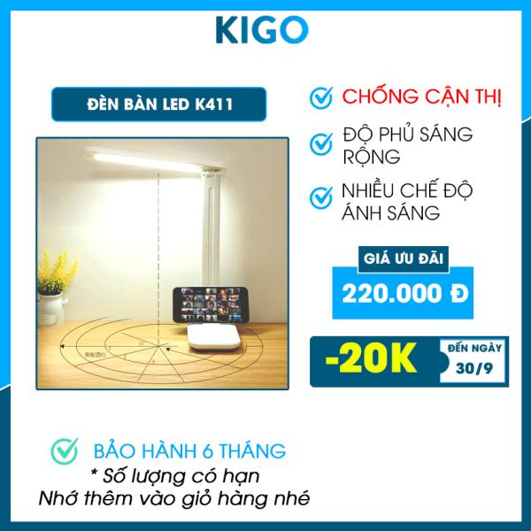 Bảng giá Đèn led siêu sáng Kigo học để bàn chống cận thị, đèn led live stream trang trí phòng học, phòng ngủ K411