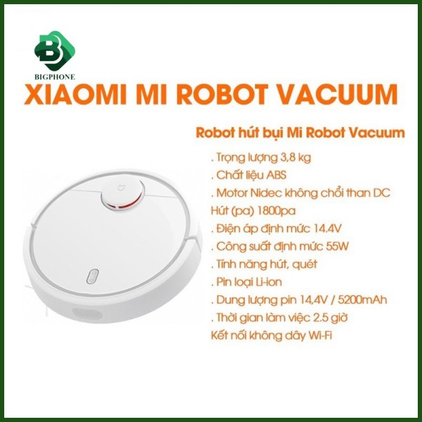 Robot hút bụi Xiaomi Vacuum Mop Pro SKV4110GL STYTJ02YM - Hàng chính hãng