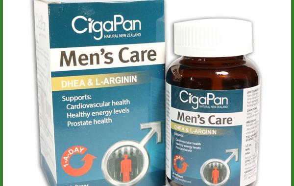Viên uống tăng cường sinh lý nam Cigapan 30 viên -bổ thận tráng dương Nhung hươu CigaPan Men Care - Hộp 30 viên
