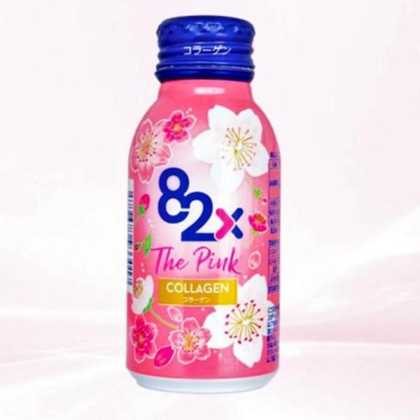 Combo 82X the pink collagen 100ml hàm lượng 1000mg collagen, nước uống đẹp da đến từ nhật bản